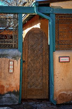 Santa Fe, New Mexico// i took a picture of this same door when I was in Santa Fe!