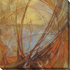 Kim Coulter 'Watermark III' Oversized Canvas Art