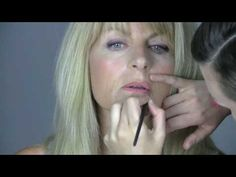 Wonderful make-up tutorial for women over 50....well I guess I need to watch this .... UGGGH!!!!! LOL!!!