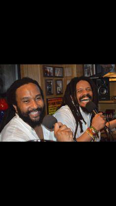 Brothers, Kymani and Rohan Marley. Marley Brothers, Marley Family, Nesta, Soul Music, Bob Marley, Reggae, Weed, Beautiful Men, Archive