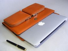 Apple Macbook Pro Carrying Briefcase Case and for by leathercase