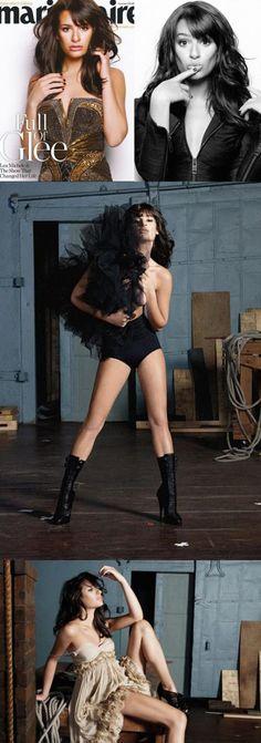 Lea Michele - hair