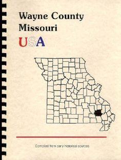 "MO~WAYNE COUNTY~GREENVILLE~1888 ""HISTORY OF SOUTHEAST MISSOURI""+BIOGRAPHY~NEW RP"