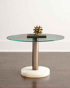 Layna Side Table by Arteriors at Horchow. Love the look of this side table.