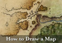 This tutorial covers my entire process for how to draw a map - from start to finish. Here I'm illustrating a town map, but the steps apply to any map.