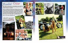FLBD July 2015 Featured Model Rachel Oller #FLBD #motorcycle #bikersofpinterest #bikerchick