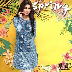 Origins Spring Dresses 2016 Featuring Ayeza Khan #Origins #AyezaKhan #SpringDresses2016