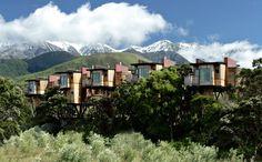 Wohnen in den Wipfeln: Die Hapuku Lodge Tree Houses in Neuseeland sind eine...