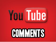 Buy custom YouTube Comments and boost your video popularity. When people see your Comments on your video they will be 2x more likely to watch your video and leave a comment as well. If you want to boost your video hype and get people interested in what your showing this is right for you. Great for Music Videos, Product reviews, testimonials.