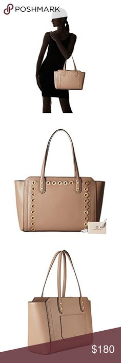f4da8d105c Ivanka Trump Soho Solutions Top Zip Shopper Taupe A POSH style to complete  you fierce ensemble