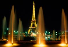 Paris - Eiffel Tower at Night