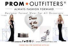 """Dress of the Day! - Prom Outfitters  Style: Tarik Ediz 92156 $720.00 http://www.promoutfitters.com/tarik-ediz-92156 Shoes: First Sight Stony $59.99 http://www.promoutfitters.com/first-sight-stony Bag: City One 68003 Snow $230.00 http://www.promoutfitters.com/index.php/city-one-68003-snow/  TAKE AN ADDITIONAL 35% OFF ALL SALE ITEMS. USE DISCOUNT CODE: """"SALE2014"""" AT CHECKOUT"""