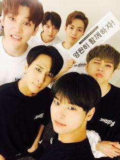 Vixx. N, Ravi, Hyuk, Ken, Hongbin, Leo.. I love them all♡♡♡