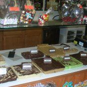 Cook's Collection-Oregon, IL  The smell of homemade fudge freshly made in-house will wake up your chocolate sensations. We also offer chocolate cranberries, chocolate cherry dip mix and pot coffees in chocolate raspberry, mudslide and turtle sundae.