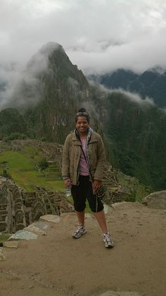 being able to experience Machu Picchu :) 2014
