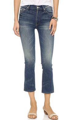 MOTHER Women's The Insider Crop Jeans, Double Trouble, 31 Best Price