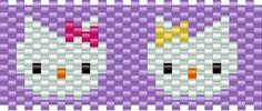 Hello Kitty Mimmy Kitty Kandi Pattern-and tons more!