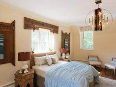 Eclectic Bedrooms from Vanessa Helmick on HGTV
