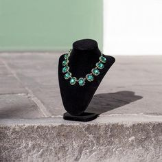 Make them green with envy with this Oval Jewel Necklace ($32)!