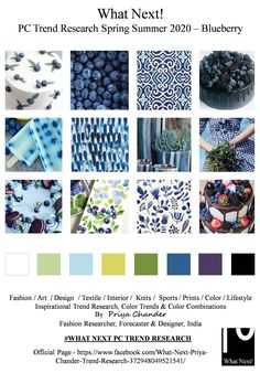 #Blueberry #Blueberries #SS2020 #blue #springsummer2020 #fashionforecasting #NYFW #LFW #PFW #MFW #fashionweek #fashionforecast #fashiontrends #nature #menswear #womenswear #kidswear #textileart #colorforecast #homedecor #fashionindusry #shadesofgreen #fashionresearch #trendsetter #fashioninfluencer #moodboard #fashiondesigner #forecasting #interiors #fruits #fashionfabrics