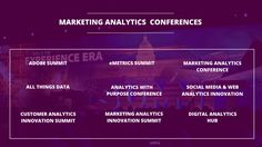 Top 9 Digital Marketing Conferences on Marketing Analytics