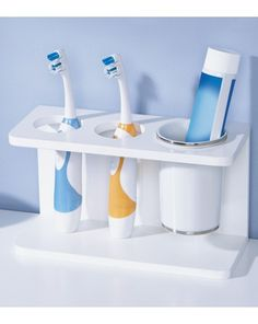 Electric Toothbrush Storage In Bathroom Vanity   Google Search   Best Electric  Toothbrushes   Pinterest   Toothbrush Storage, Bathroom Vanities And  Vanities