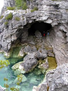 The Grotto, Bruce Peninsula National Park, Canada