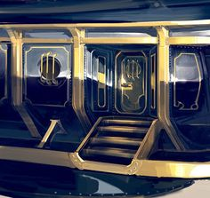Entrance of the First Lady airship (in-game model done by Paul Presley)