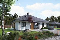100 M2, Prefab Homes, Mid-century Modern, Gazebo, Family Room, House Plans, Construction, Outdoor Structures, House Design