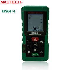 48.04$  Buy here - http://alioje.worldwells.pw/go.php?t=32573169545 - MASTECH MS6414 Laser Rangefinder 40m 131ft Laser Distance Meter Measurer Laser Range Finder Medidor Measure Area/Volume Tool 48.04$