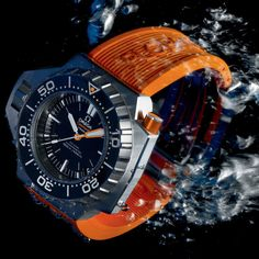 Omega Seamaster Ploprof 1200 m Watch This Space, Omega Seamaster, Breitling, Cool Watches, Orange, Accessories, Jewelry Accessories