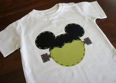 Mickey Frankenstein Halloween shirt for Disney World and Disneyland trips from AStitchUponAStar on Etsy