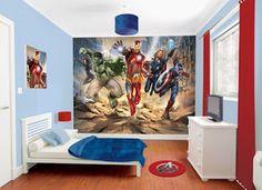 Decoración e Ideas para mi hogar: Dormitorios decorado de super héroes
