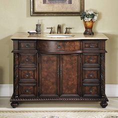 Stufurhome Amelia 48 In. Single Bathroom Vanity   GM 5116 48 BB