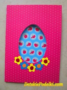 ПОДЕЛКИ ДЛЯ ДЕТЕЙ Easter Activities For Kids, Diy Ostern, Creative Kids, Kids Cards, Easter Crafts, Easter Bunny, Halloween, Origami, Paper