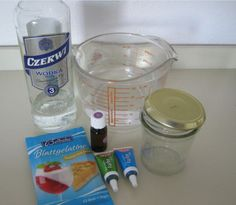 Maak je eigen natuurlijke gel luchtverfrisser met deze ingredienten.