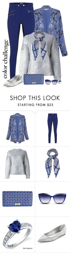 """""""Sparkle this weekend!"""" by molly2222 ❤ liked on Polyvore featuring moda, Yumi, Barbour International, DKNY, Erfurt Tücher, Buxton, GlassesUSA, Oravo, Casadei e blueandsilver"""
