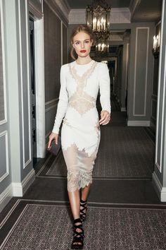 Kate Bosworth. That dress
