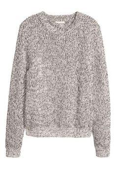 Sweter: Sweter z mieszanki zawierającej bawełnę.