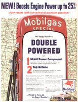 Mobilgas Special Gas 1954 Ad Picture