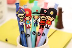 China suppliers 2015 new novelty 3D cute soldier fashion gifts gel ink pen for school stationery, View gel ink pen, DESIGN Product Details from Yiwu Design Import&Export Ltd. Company on Alibaba.com
