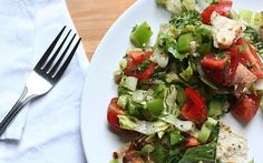 Recipe: Fattoush, A Delicious Middle Eastern Salad | The Kitchn
