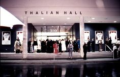 Gala at the grand reopening of Thalian Hall following renovations and expansion in 1990