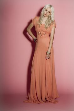 Belle & Bunty Belle Maxi Dress ~ Coral - gorgeous dress for bridesmaids