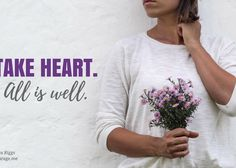 Take Heart, Sister Girl - (in)courage