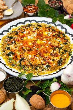 Kashke Bademjan is a popular Persian starter! It is made of eggplants, or aubergines as we call them here in the UK, garlic, onions and kashk. Iranian Cuisine, Iranian Food, Bademjan Recipe, Quick Recipes, Healthy Recipes, Savoury Recipes, Indian Dessert Recipes, Ethnic Recipes, Cucina