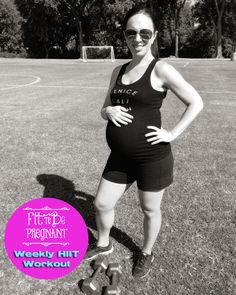 """This workout is awesome for athletic #pregnant mamas who want to keep up their routines during #pregnancy ! 