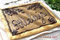 przepis na mazurek chałwowy Apple Pie Bars, Easter Recipes, Pavlova, Tiramisu, Food And Drink, Favorite Recipes, Sweets, Cookies, Cake