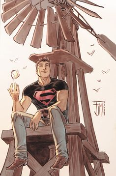 secret files: Superboy Colors by manapul on DeviantArt