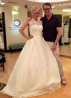 """@Robin Gibbs @Judd Waddell favorite designer and favorite """"Say Yes to the Dress"""" star!!!"""